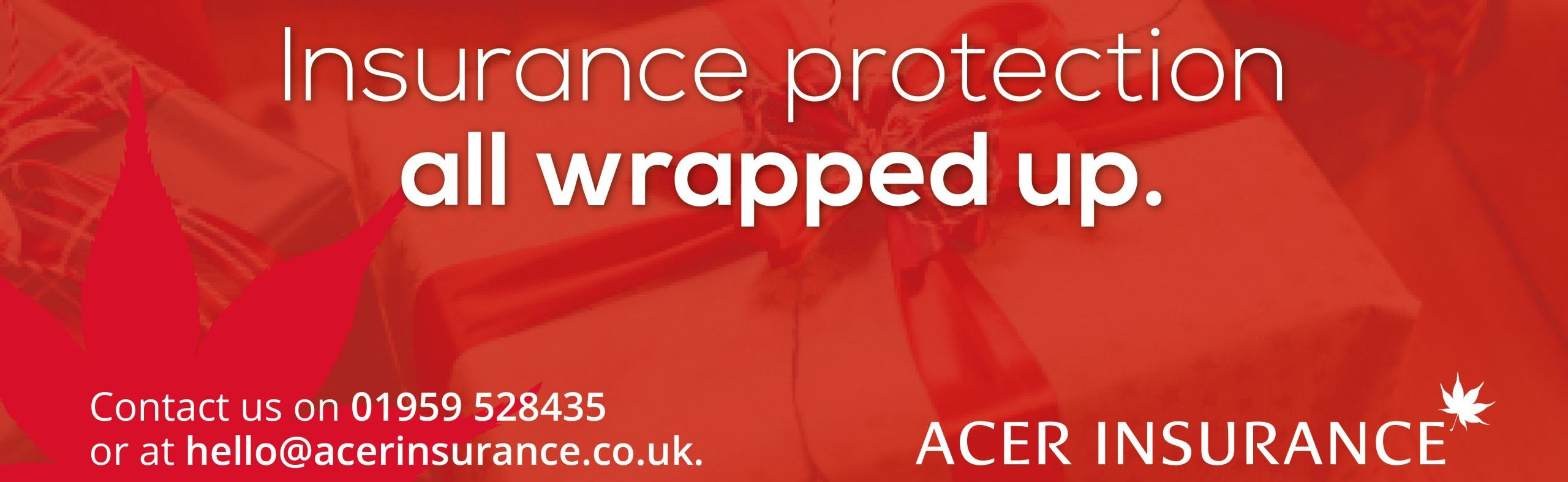 Insurance protection all wrapped up